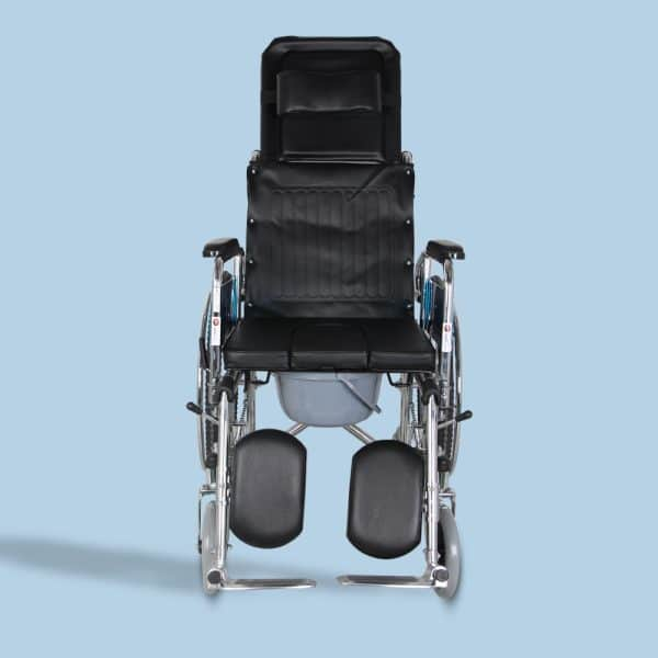 Mediva Reclining Wheelchair with Commode MHL 1006-C