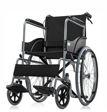 Med-e-Move Basic Premium Wheel Chair Powder Coated-Black