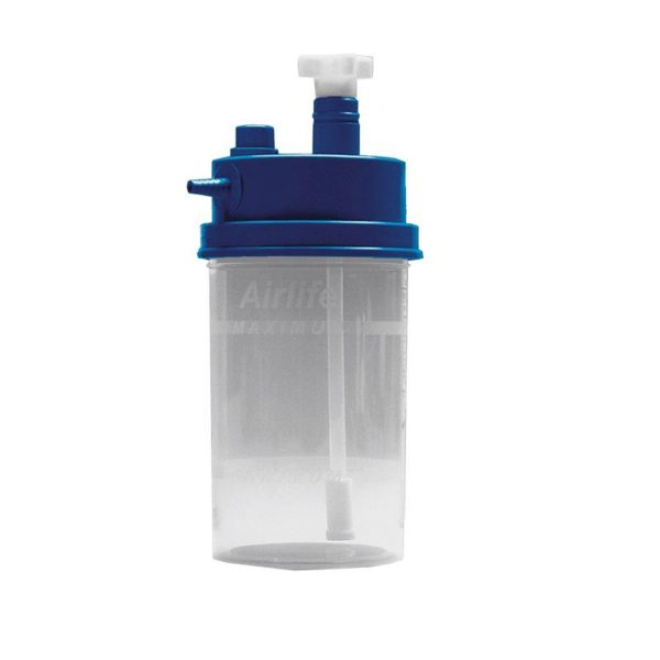 Bubble Humidifier Bottle For Various Oxygen Concentrators By Airlife®