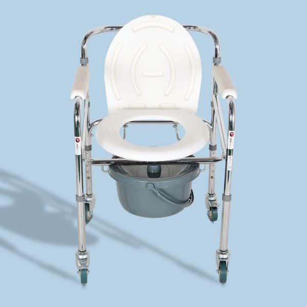 Mediva Commode Chair with wheel MHL 3003