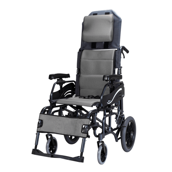 Karma%C2%AE VIP 515 (KM-1520.3T) Tilt-In-Space Reclining Manual Transport Wheelchair