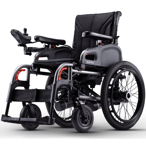 Karma%C2%AE eFlexx (F14 / F20) Motorized Folding Travel Wheelchair