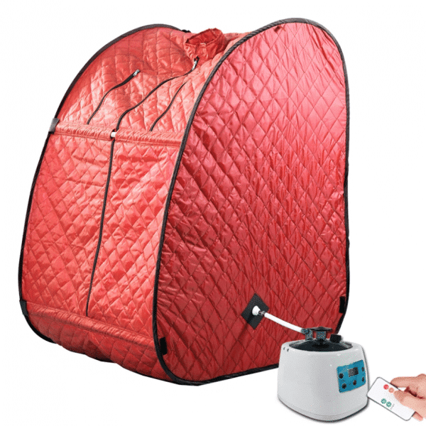 Buy Kawachi Portable Steam Bath - Red in Pune & Mumbai, India
