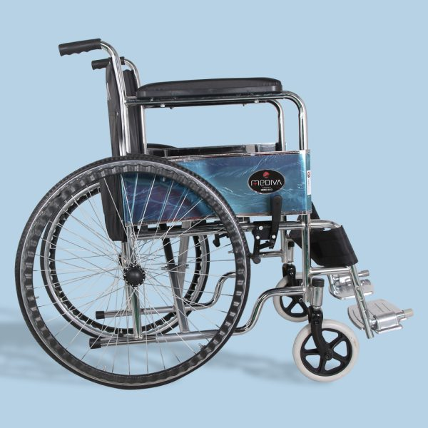 Mediva Manual Steel Wheelchair MHL 1009