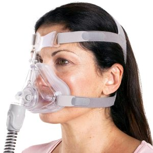 Quattro™ Air For Her Full Face CPAP Mask With Headgear By ResMed