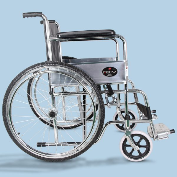 Mediva Manual Steel Wheelchair MHL 1002