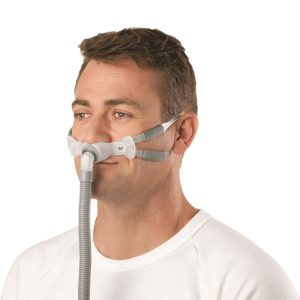 Swift™ FX Bella Gray Nasal Pillow CPAP Mask For Men By ResMed