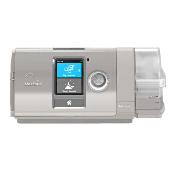 AirCurve™ 10 S Bi-Level with HumidAir™ Heated Humidifier by ResMed
