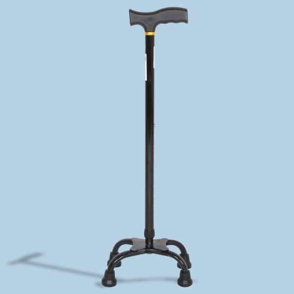Mediva Quadripod Walking Stick MHL 2010-BL