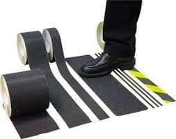 Pedder Johnson BLACK TAPE- FOR STEPS & RAMPS PER METER