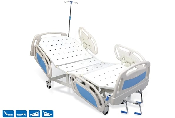 MANUAL FIXED HEIGHT ICU BED ADVENT