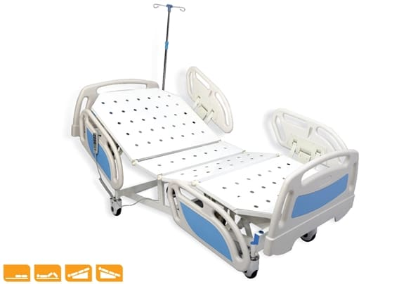 MOTORIZED FIXED HEIGHT ICU BED ADVENT
