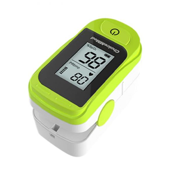 ChoiceMMed MD300C15D Fingertip Pulse Oximeter Green