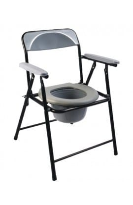 Med-e-Move Commode Chair with Armrest
