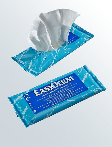 Medi Germany Easyderm  Wipes Or Glove Cleansing Cloth