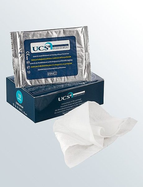 Medi Germany Ucs Debridement Wound Debridement Cloth