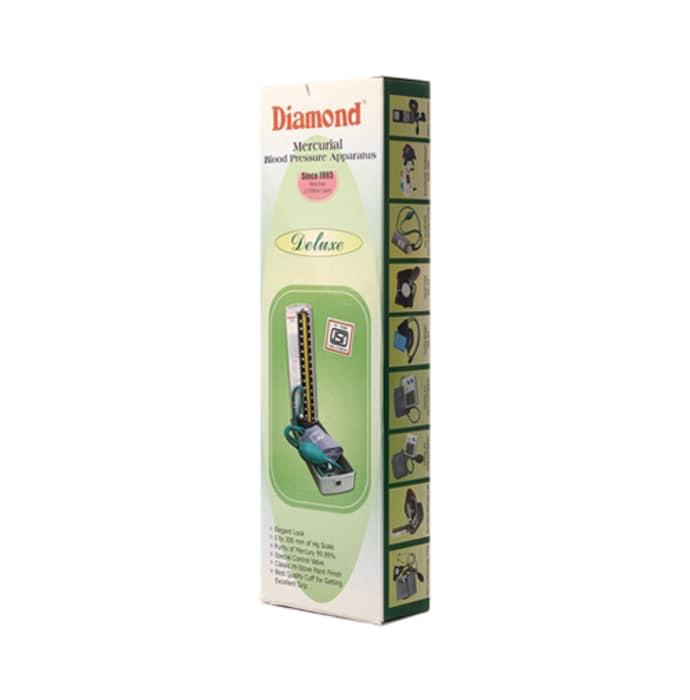 Diamond Deluxe Mercurial Blood Pressure Monitor Device