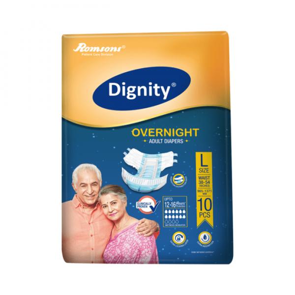 Dignity Overnight Adult Diaper L