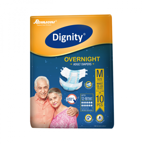 Dignity Overnight Adult Diaper M