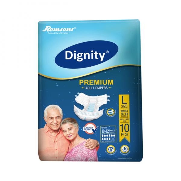 Dignity Premium Adult Diaper L