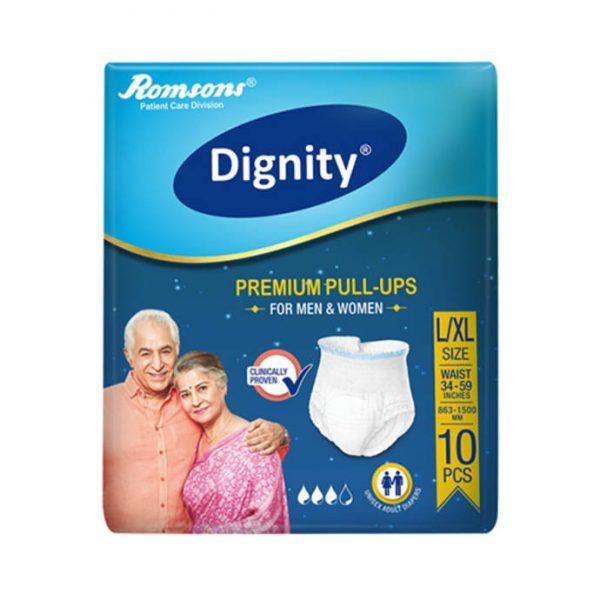 Dignity Premium Pull-Ups Adult Diaper L-XL