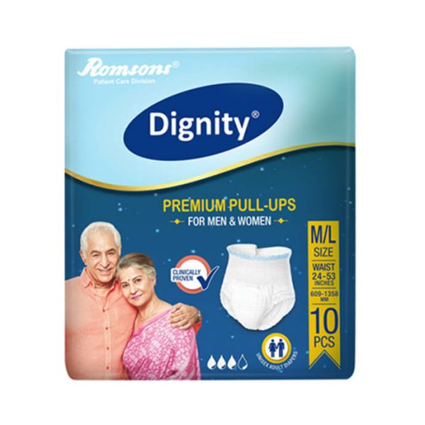 Dignity Premium Pull-Ups Adult Diaper M-L