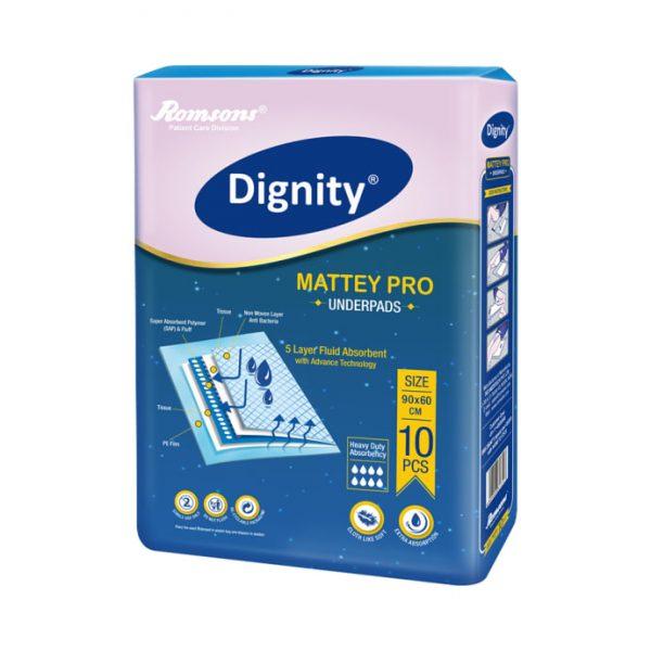 Dignity Underpads 90cm x 60cm Mattey Pro