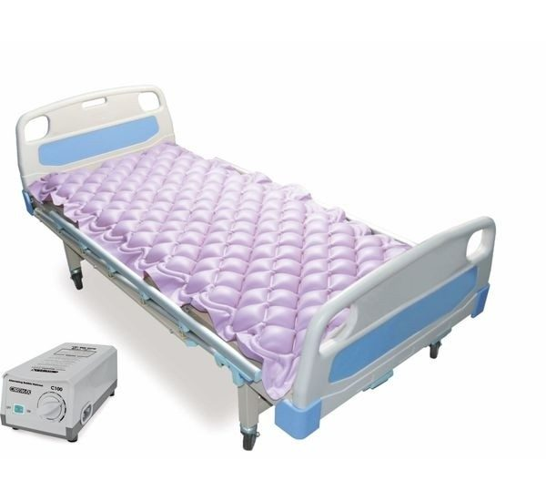 Pedder Johnson Alternating Bubble Mattress with Adjustable pump System