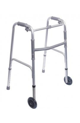 Med-e-Move Folding Walker with Wheels