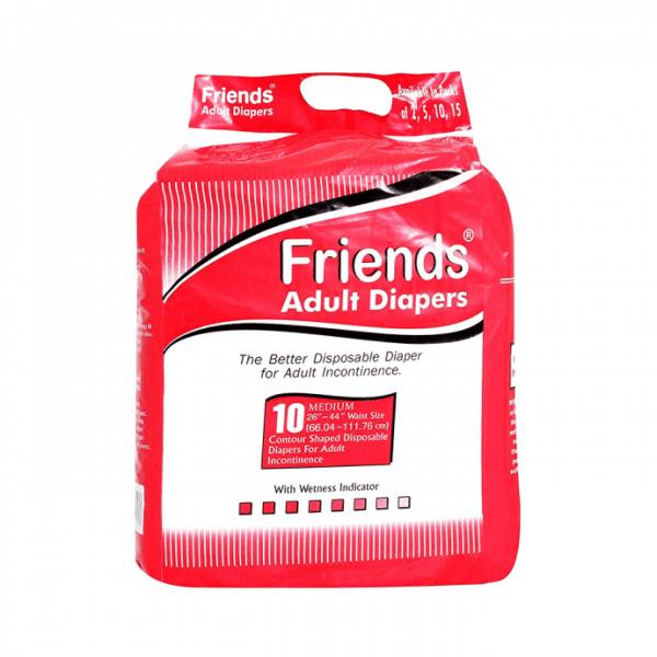 Friends Adult Diaper M