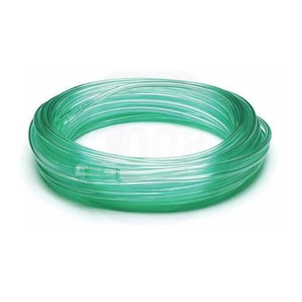 Disposable Oxygen Tubing 25 Foot Length - Green