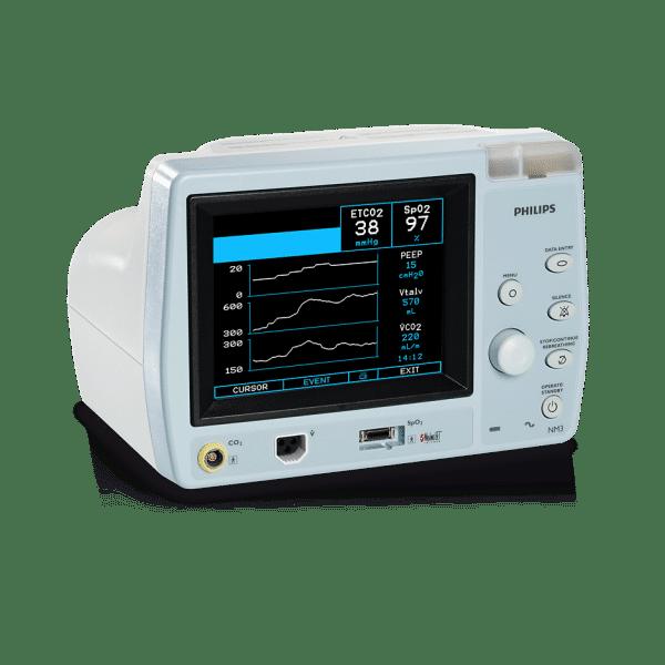 Philips Respironics NM3 Respiratory profile monitor