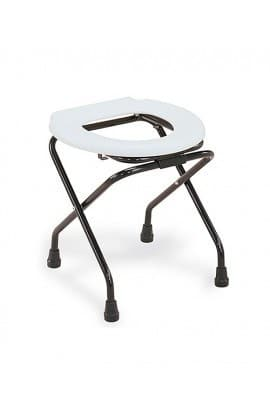Med-e-Move Folding Commode Stool with Lock
