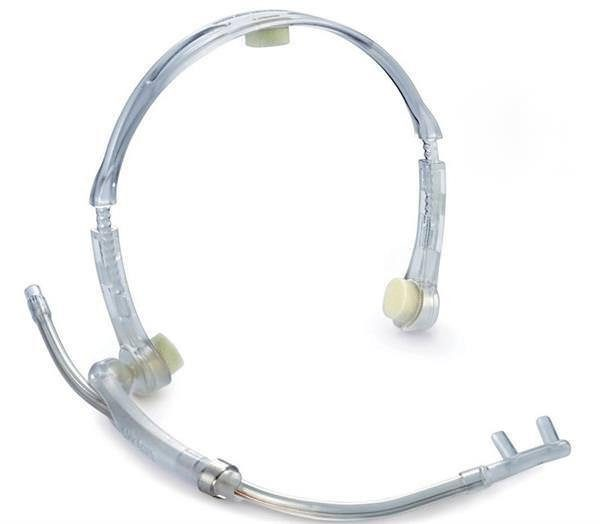 OxyArm Clear Head Band with Nasal Cannula Arm and 7ft O2 Tube