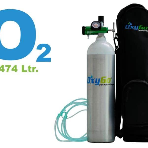 OxyGo Mediva Oxygen Medical Cylinder Kit