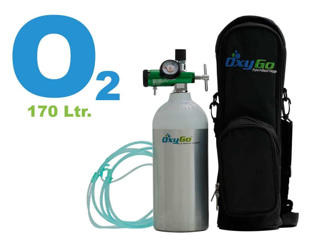 OxyGo Lite Pro Oxygen Medical Cylinder Kit