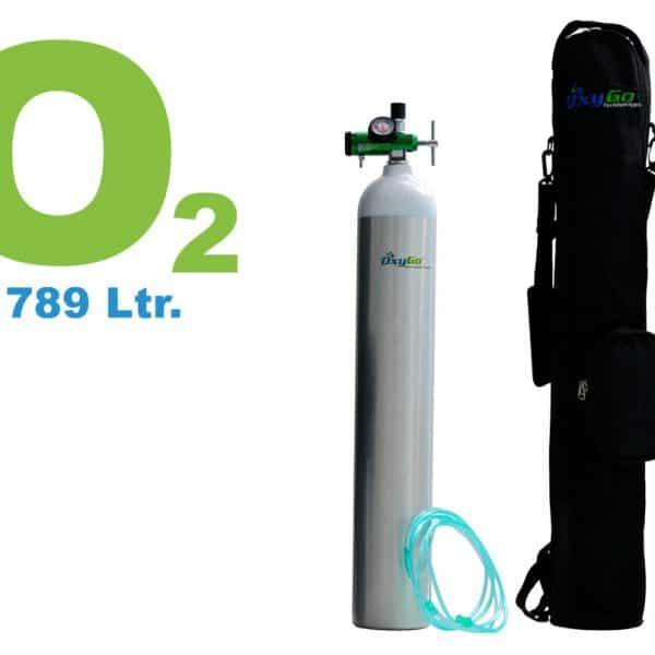 OxyGo Optima Pro Oxygen Medical Cylinder Kit