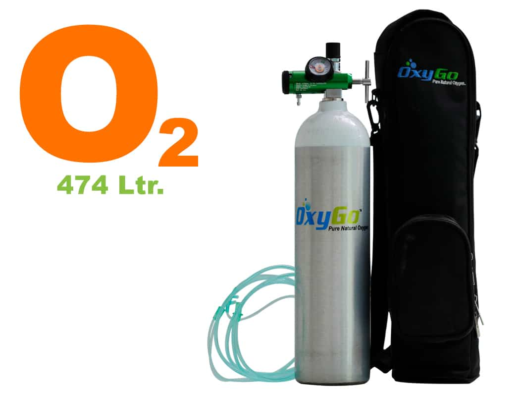 OxyGo Mediva Pro Oxygen Medical Cylinder Kit