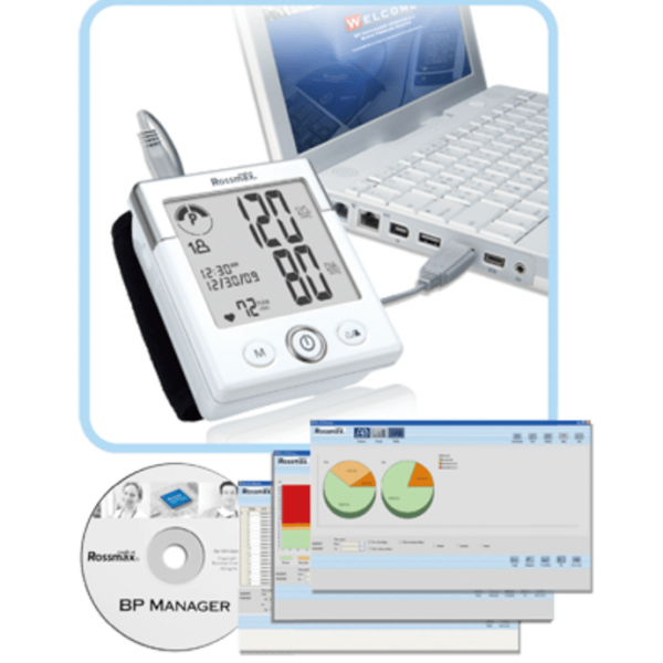 Rossmax BP Manager (USB Cable and Software Download Instruction)