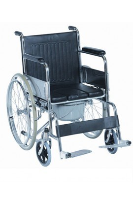 Med-e-Move Wheelchair with U Commode
