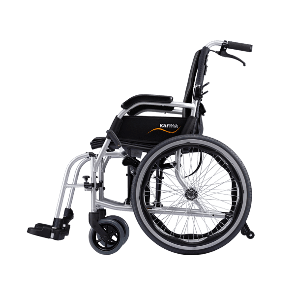 "Karma KM-2512 Ergo Lite 2 Ultralightweight Aluminium Manual Wheelchair (20""Rear Wheel)"