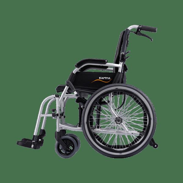 "Karma KM-2512 Ergo Lite 2 Ultra Lightweight Aluminium Manual Wheelchair (14""Rear Wheel)"