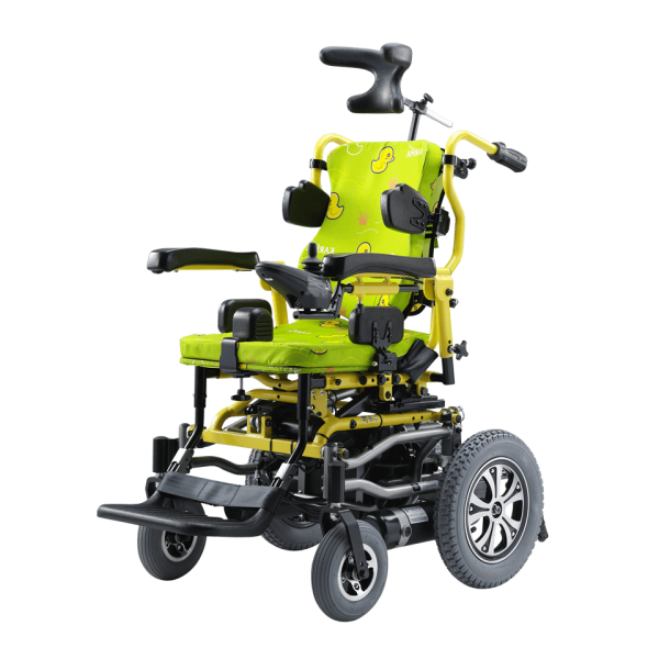 Karma KP-12T Cerebral Palsy / Muscular Dystrophy Power Wheelchair for Kids
