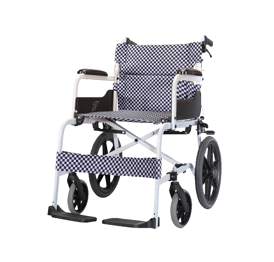 "Karma SOMA 105 Economical Aluminium Manual Wheelchair (16""Rear Wheel)"