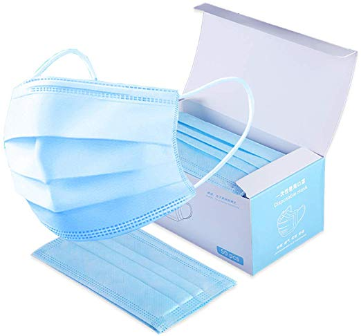 Buy Safety Mask – Disposable 3-Ply Surgical Face Mask in Pune & Mumbai, India