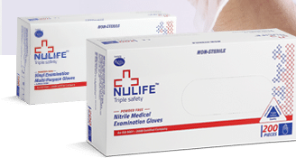 Buy Nitrile (Non-Latex) Examination Gloves Non Sterile Powderfree in Pune & Mumbai, India