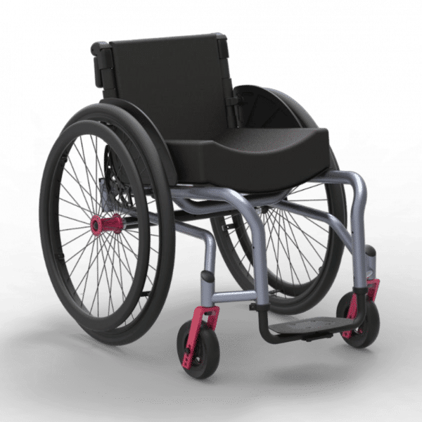 Buy Neomotion® NeoFly (Silver Colour) Fully Customisable Manual Wheelchair in Pune & Mumbai, India