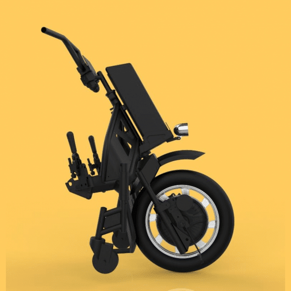 (Side) Buy Neomotion® NeoBolt Strap-On Battery Powered Scooter for Wheel Chairs in Pune & Mumbai, India